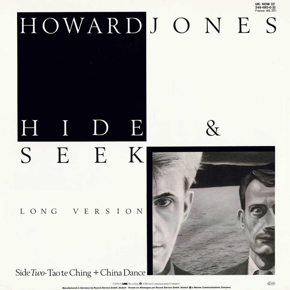 Howard Jones – Hide & Seek (UK